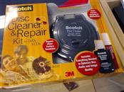 SCOTCH 3M DISC CLEANER REPAIR KIT FOR DVDS & CDS